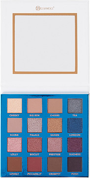 BH Cosmetics - BH Cosmetics Love in London - 16 Color Shadow Palette