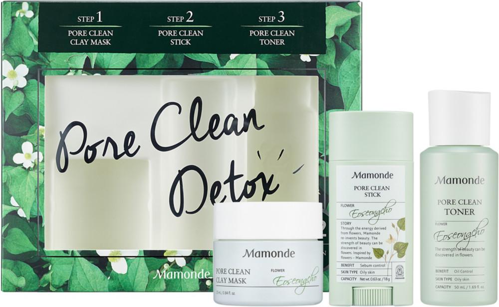 Mamonde - Mamonde Pore Clean Trial Kit