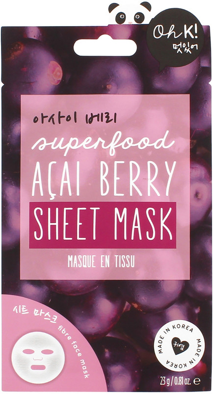 null - Oh K! Acai Berry Sheet Mask