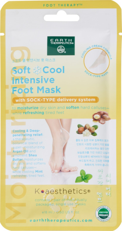 Earth Therapeutics - Soft Cool Intensive Foot Mask