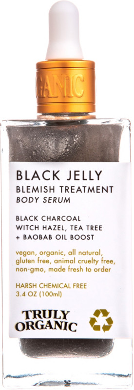 null - Black Jelly Blemish Treatment Body Serum