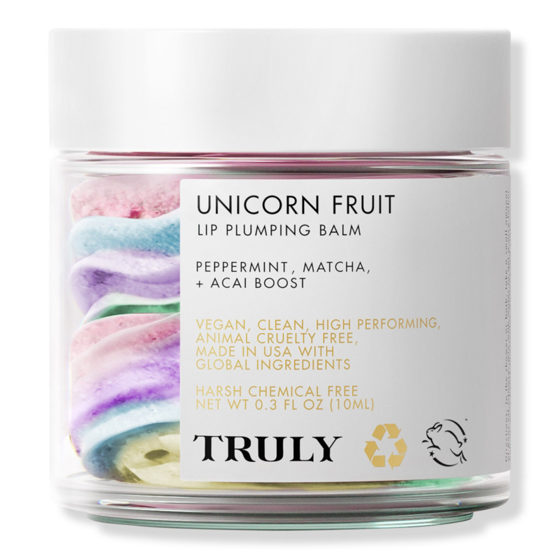 null - Truly Unicorn Fruit Lip Plumping Balm