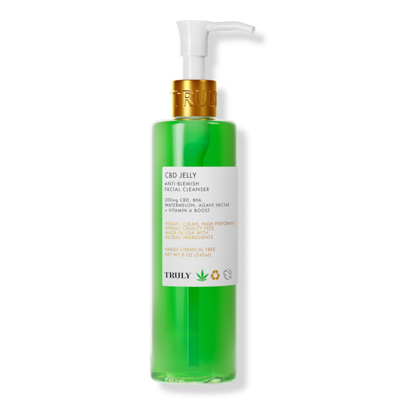 ULTA Beauty - Truly CBD Jelly Anti Acne Facial Cleanser | Ulta Beauty