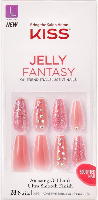 Kiss Be Jelly Gel Fantasy Nails