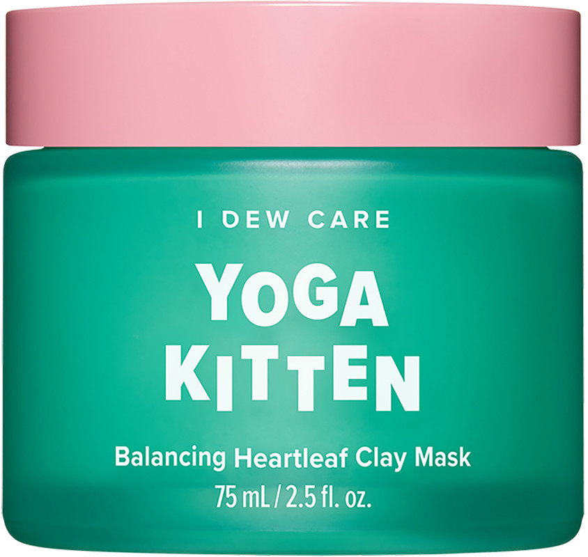 null - I Dew Care Yoga Kitten Balancing Heartleaf Clay Mask