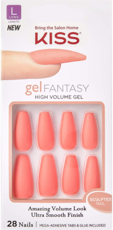 null - Kiss Back It Up Sculpted Gel Fantasy Nails