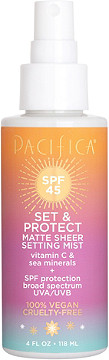 Pacifica - Pacifica Set & C Protect SPF 45 Matte Sheer Setting Mist