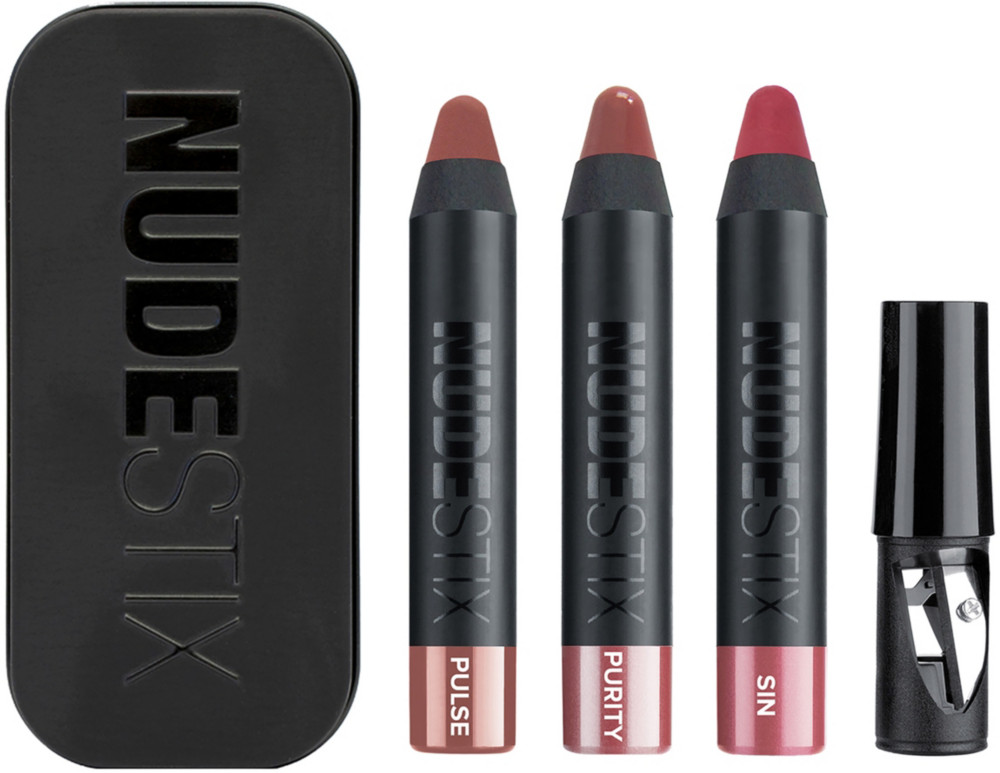 Nudestix - Everyday Nude 3 Piece Mini Lip Kit