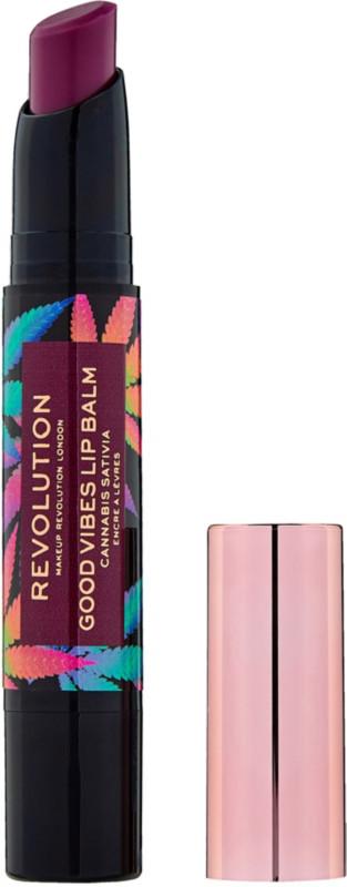 Makeup Revolution - Good Vibes Lip Balm with Cannabis Sativa