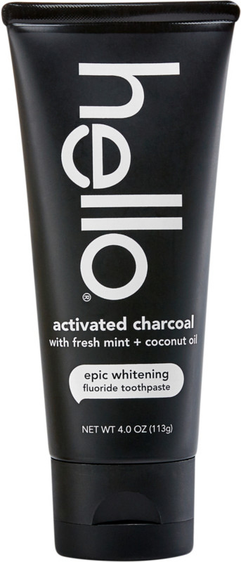Hello - Activated Charcoal Epic Whitening Fluoride Toothpaste
