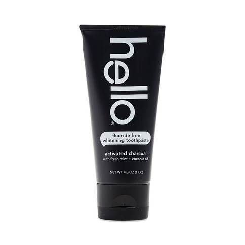null - Hello Activated Charcoal Whitening Toothpaste