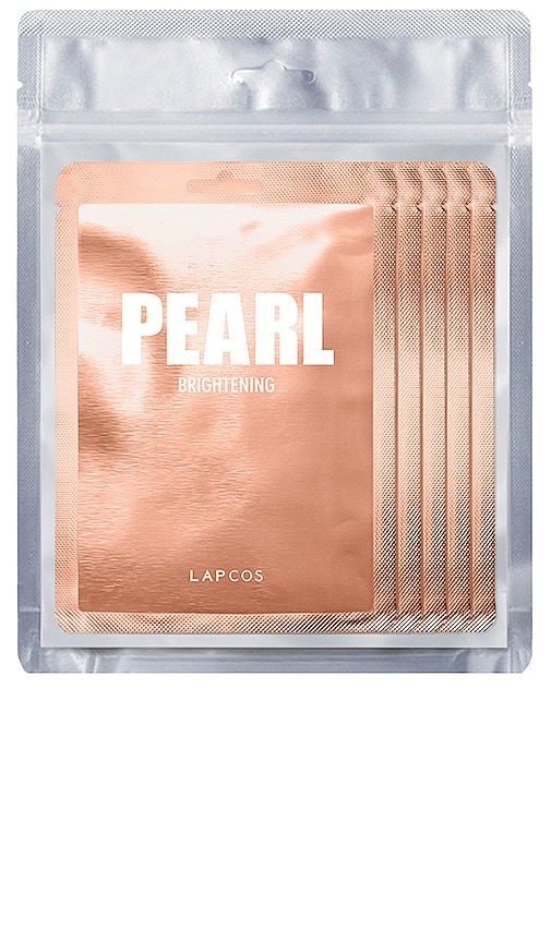 brand: LAPCOS - Pearl Daily Skin Mask 5 Pack