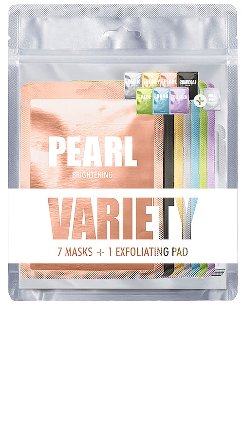 brand: LAPCOS - 7 Mask Variety Pack 1 + Exfoliating Pad