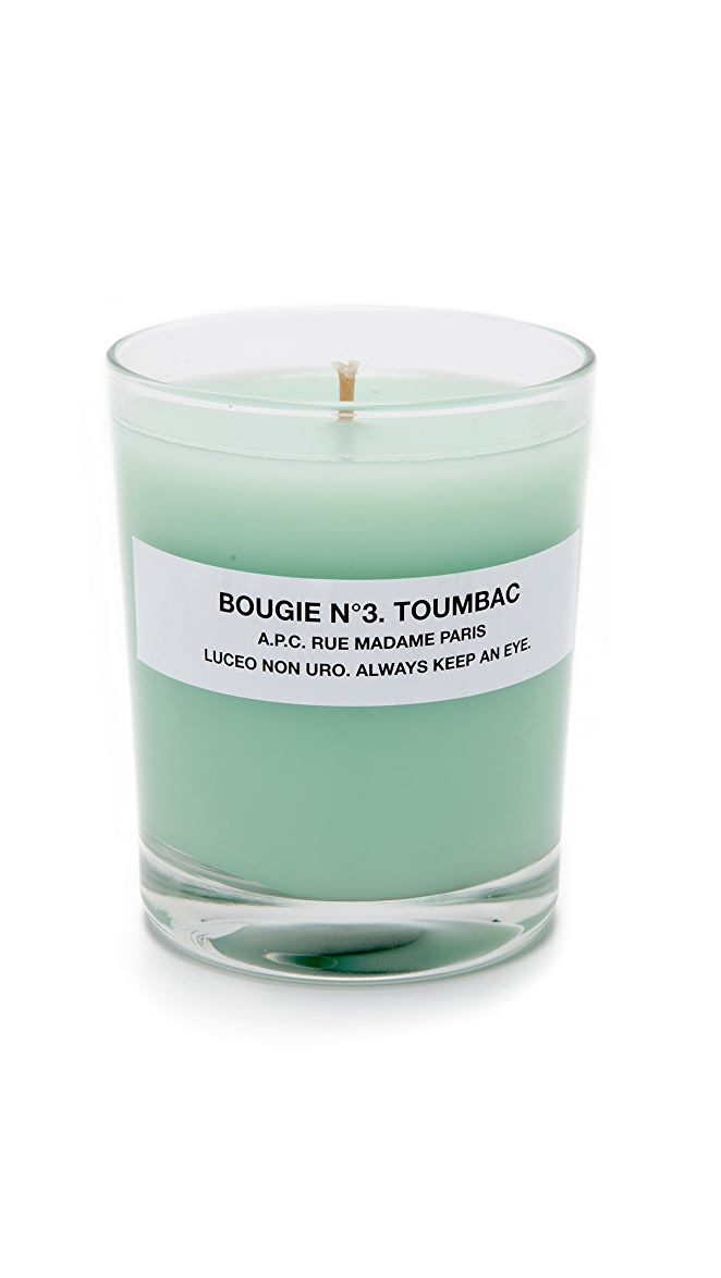 A.P.C. - Toumbac Scented Candle
