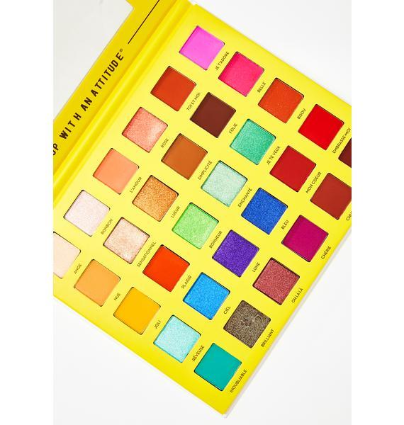 Rude Cosmetics - C'est Fantastique Eyeshadow Palette