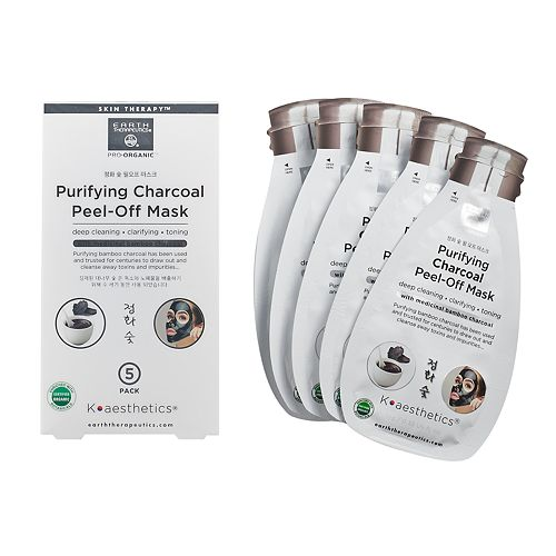 Earth Therapeutics - Purifying Charcoal Peel-Off Face Mask