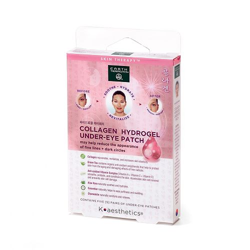 Earth Therapeutics - Earth Therapeutics Collagen Hydrogel Undereye Patch