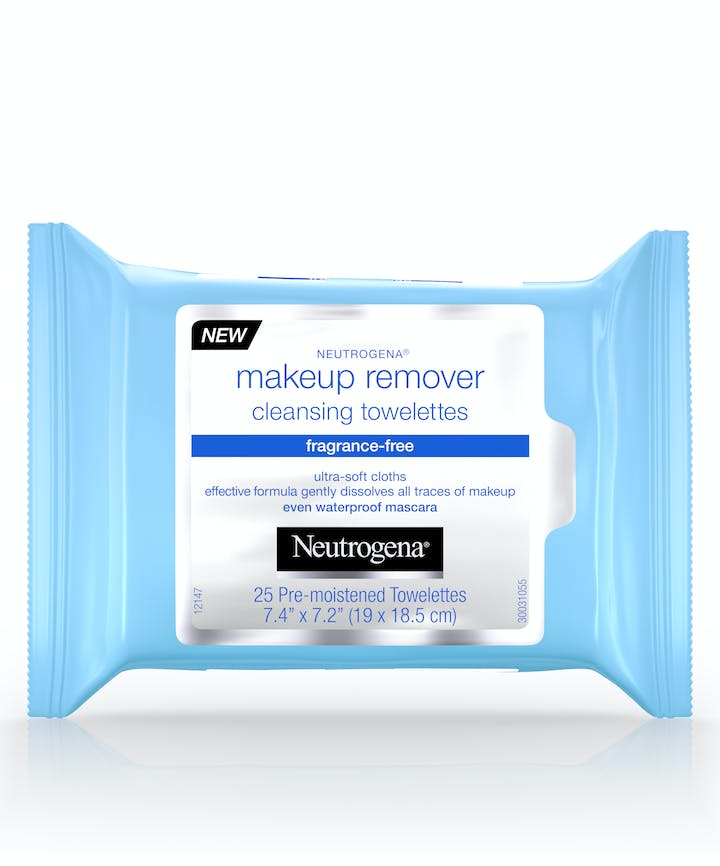 Neutrogena - Makeup Remover Cleansing Towelettes - Fragrance Free