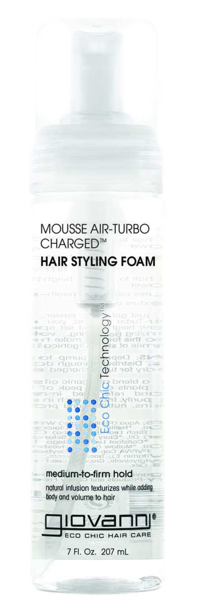 Giovanni - MOUSSE AIR-TURBO CHARGED™ HAIR STYLING FOAM