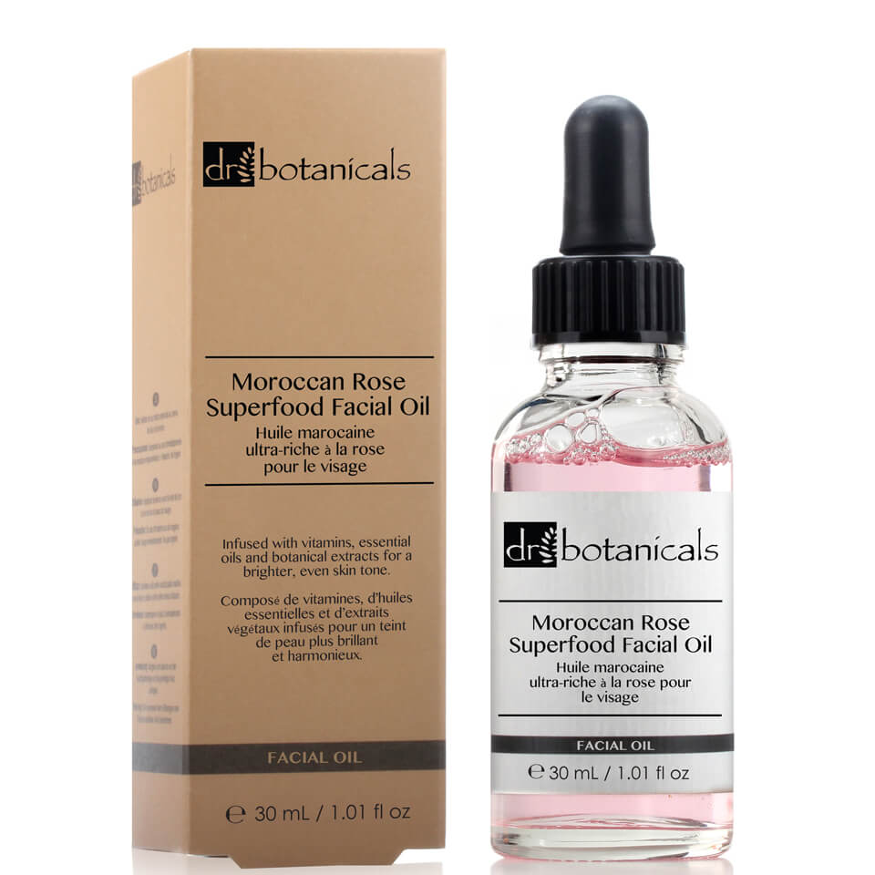 Dr Botanicals - Dr Botanicals Moroccan Rose Superfood Facial Oil 30ml