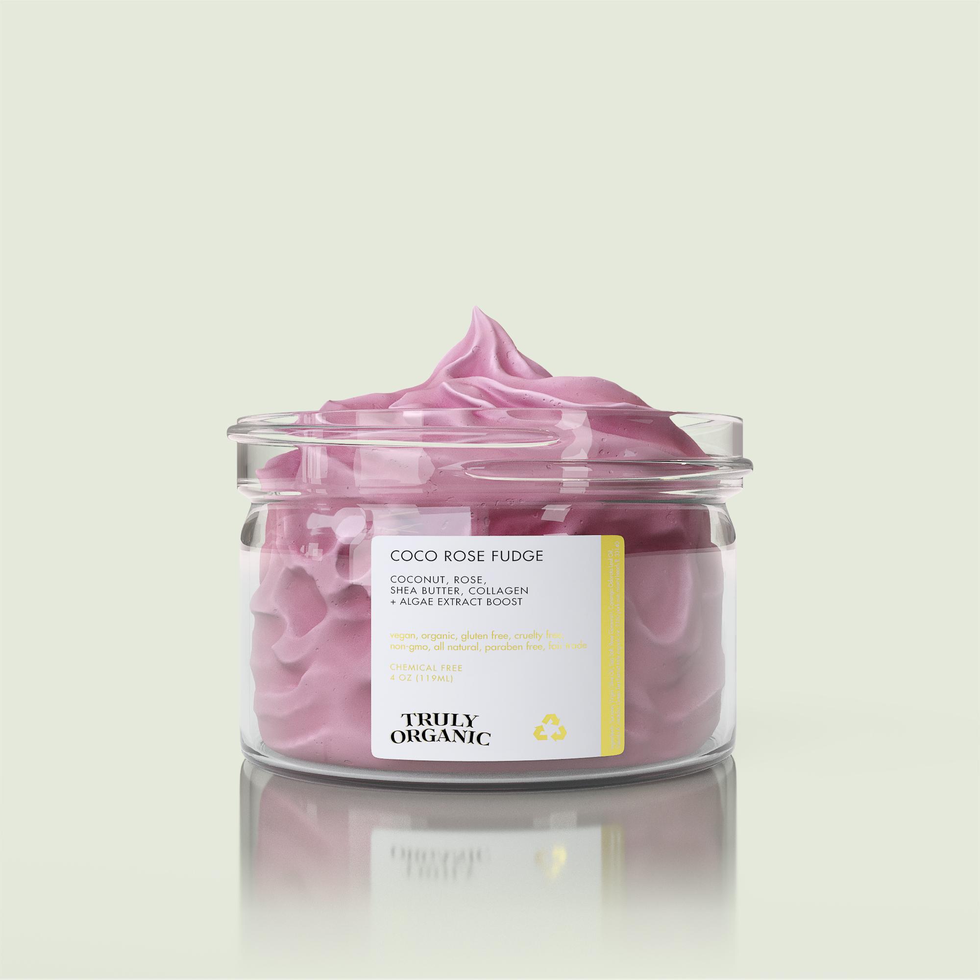Truly Organic Coco Rose Fudge Body Butter