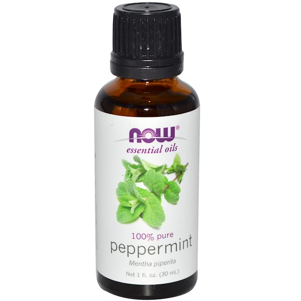 Now Foods - Now Foods, Essential Oils, Peppermint, 1 fl oz (30 ml)