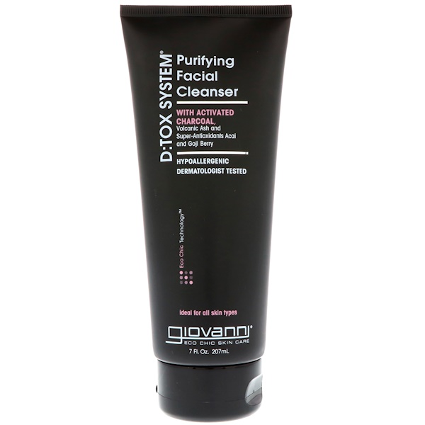 Giovanni - Giovanni, D:Tox System, Purifying Facial Cleanser, 7 fl oz (207 ml)