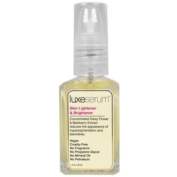 LuxeBeauty - LuxeBeauty, Luxe Serum, Skin Lightener & Brightener, 1 fl oz (30 ml)