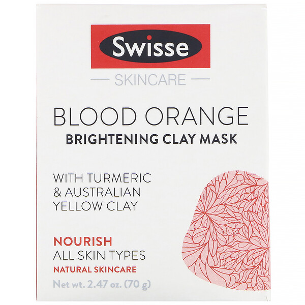 Swisse Wellness Blood Orange Brightening Clay Mask