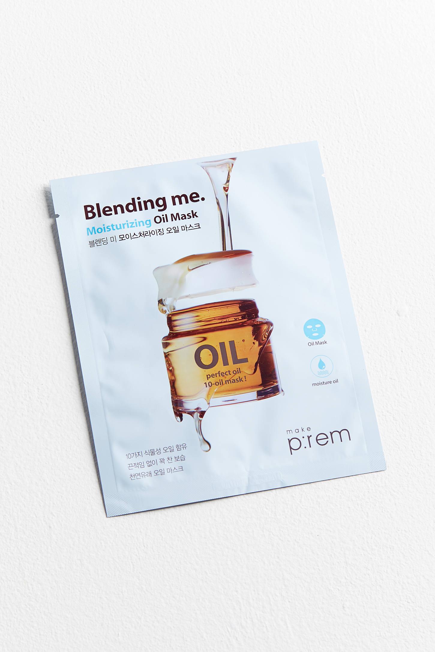 Make P:rem - Blending Me. Moisturizing Oil Sheet Mask