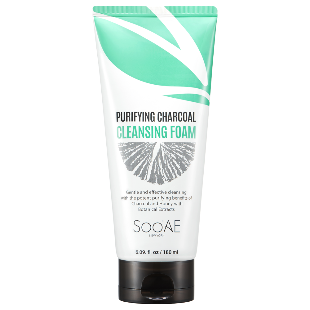 null - Purifying Charcoal Cleansing Foam