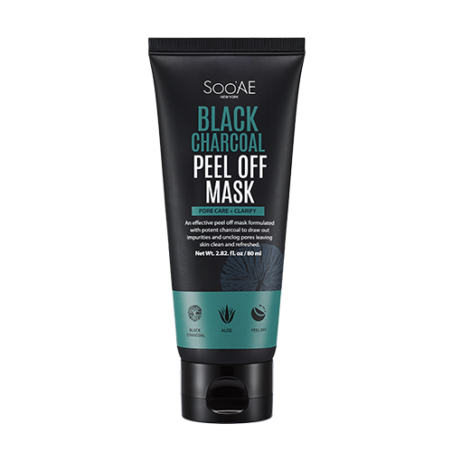 SooAE - Black Charcoal Peel Off Mask
