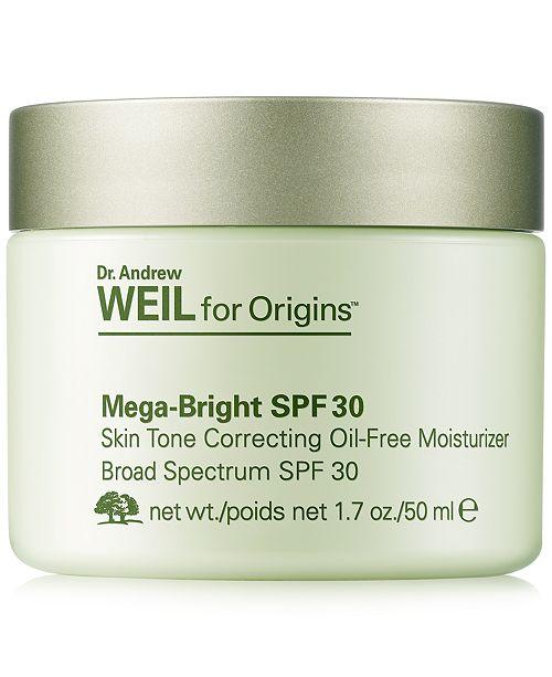 Origins - Dr. Andrew Weil Mega-Bright SPF 30 Moisturizer