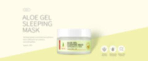 null - Aloe Gel Sleeping Mask   JejuenUSA