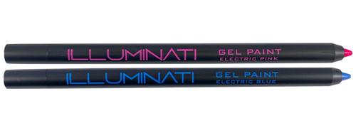 ILLUMINATI COSMETICS - Gel Paint Electric Pink & Electric Blue | ILLUMINATI COSMETICS