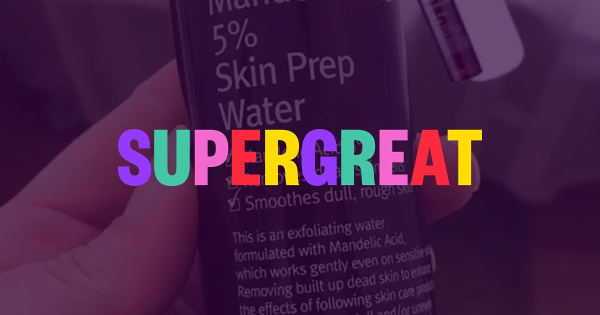 Watch @skincarebroad's review of By Wishtrend Mandelic Acid 5% Skin Prep  Water   Supergreat